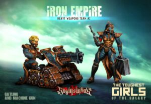 Raging Heroes The Iron Empire Heavy Weapons Team #02