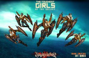 Raging Heroes Jet Girls IE