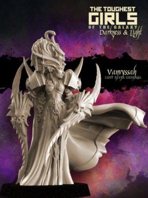 Raging Heroes Vanvyssah Lust Elves General Heroine