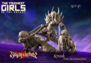 Raging Heroes The Void Elves Kraash The Beastmaster
