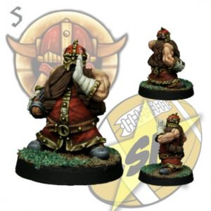 Star Player Miniatures Dwarf Runner 1