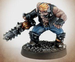 Neomics Dwarf With Chainsaw