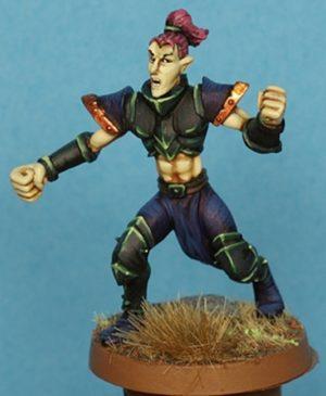 Gaspez Arts Dark Elves Linesman No 1