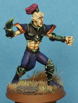 Gaspez Arts Dark Elves Linesman No 2