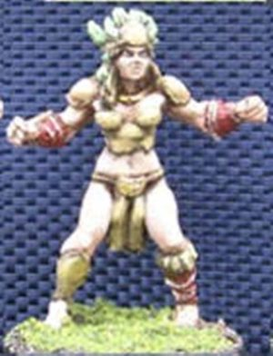 Impact Miniatures Amazon Team Player #1