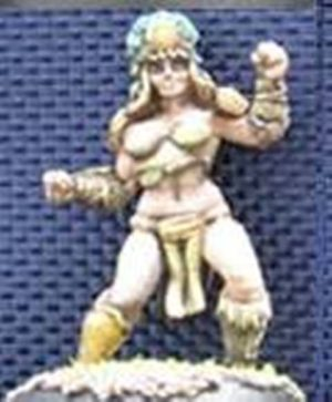 Impact Miniatures Amazon Team Player #2