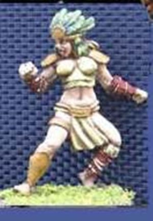 Impact Miniatures Amazon Team Player #3