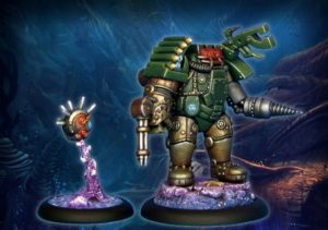 Antimatter Games Angus McBain Fortune Hunter Commander With Targeting Mech