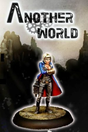 Another World Miniatures Anjelika Steampunk Female Commissar