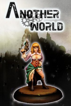 Another World Miniatures Bonnie Steampunk