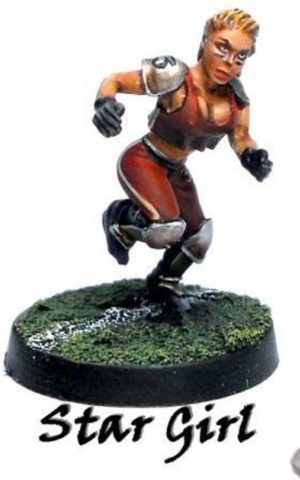 Another World Miniatures Fantasy Football Star Girl