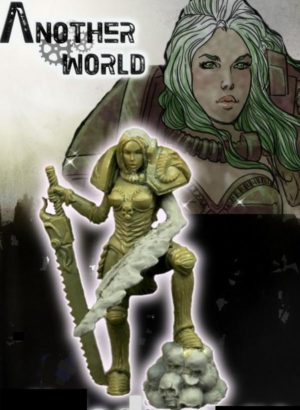 Another World Miniatures Chaos Selene Redux The Flower Of Evil