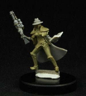 Another World Miniatures Limited Edition Kalita The Witch Huntress
