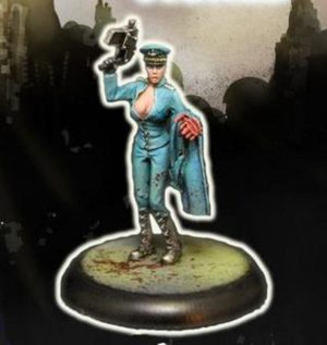 Another World Miniatures Resin Alexandra Female Commissar