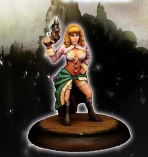 Another World Miniatures Resin Bonnie Steampunk