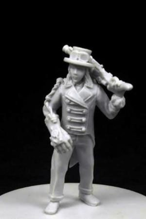 Another World Miniatures Resin Clyde Steampunk