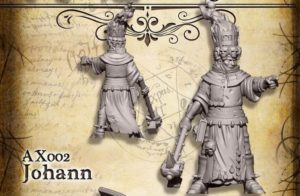 Heresy Lab Miniatures Citizens of the Old World Johan