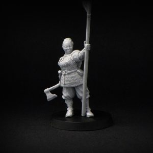 Brother Vinni Miniatures Dagmar Female Viking Standard Bearer
