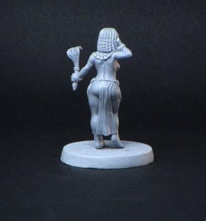 Brother Vinni Miniatures Egyptian Girl With A Snake Wand