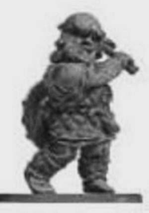 Denizen Miniatures Dwarf Wearing Leather Armour With Axe
