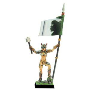 Fenryll Valkyrie Champion Standard Bearer