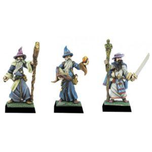 Fenryll Wizards II x 3 Figures