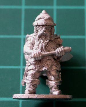 Denizen Miniatures 25mm Dwarf Adventurer with Axe