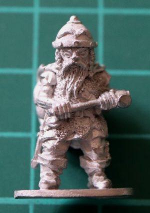 Denizen Miniatures 25mm Dwarf Adventurer with Hammer