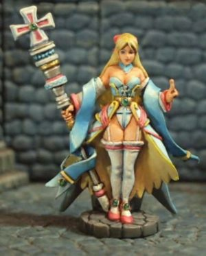 Aurora Model 1/48 Female Priest Mage