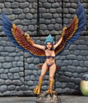Aurora Model 1/48 Female Harpy Monster