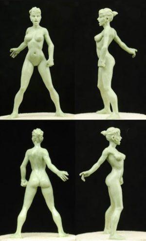 Golem Miniatures Nude Jess