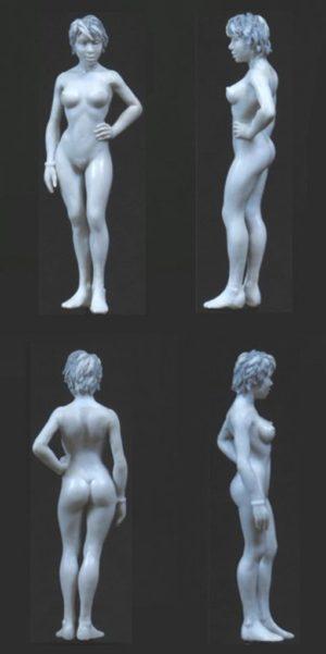 Golem Miniatures Nude Lucy