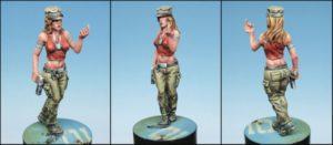 Golem Miniatures Eva With Gun