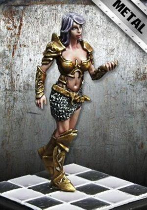 Golem Miniatures Eva Knight Metal Version