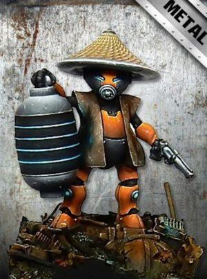 Golem Miniatures Detective Sayu (Metal)