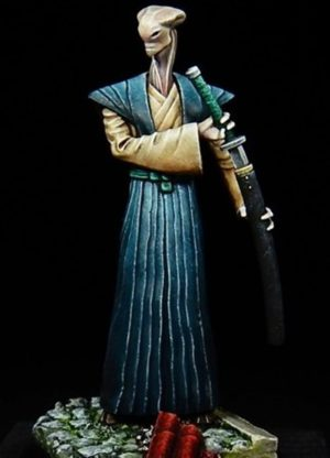 Golem Miniatures Gaijin Hiroshi Xelem