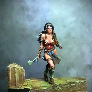 Sygill Forge Amazon Warrior Hiera