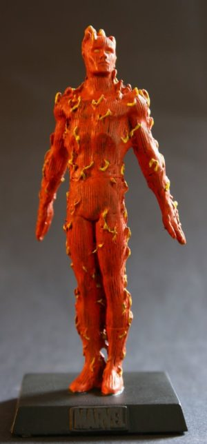 Classic Marvel Figurine Collection Human Torch