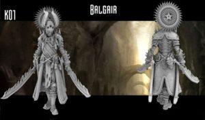 Heresy Lab Miniatures Vacant Realms Dark Elves Balgair