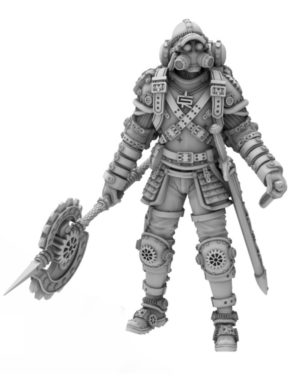 Heresy Lab Miniatures Vacant Realms Steam Punk Edgar Axel