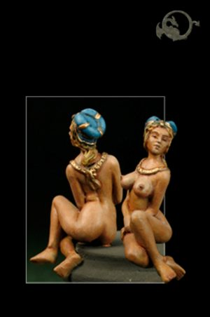 El Viejo Dragon Miniatures Medieval Nude 2