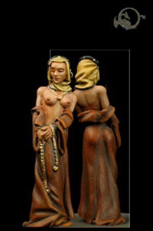 El Viejo Dragon Miniatures Medieval Nude 3