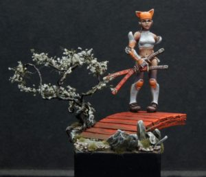 Maow Miniatures Grumpy Cathy Limited Edition