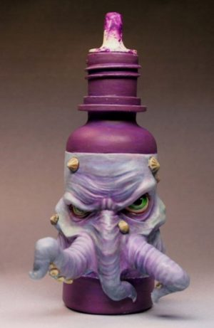 Maow Miniatures Monstro-poulp'ot Monster Bottle With Tentacles
