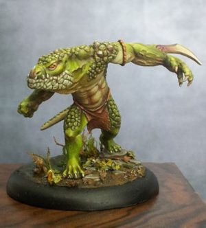 Maow Miniatures X-Saur Lizard (Limited Edition)