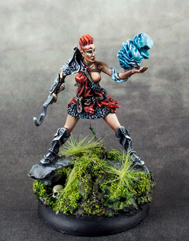 Maow Miniatures Myranda The Pyromancer