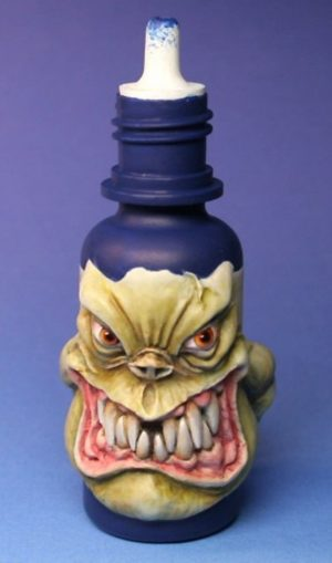 Maow Miniatures Psycho Monster Bottle With X-Acto