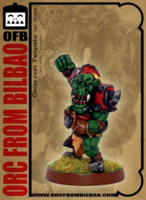 Orc From Bilbao Fantasy Football Orc With Basque Beret Blocker