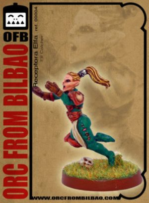 Orc From Bilbao Fantasy Football Female Elf Catcher