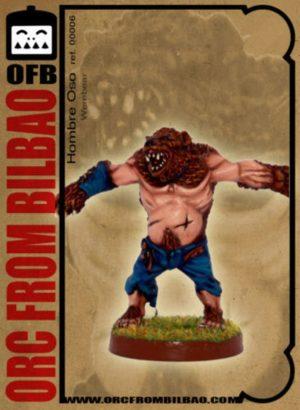 Orc From Bilbao Fantasy Football Werebear